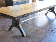 Hure conference table Model #HU41 For more info, visit the Hure product pageLINK
