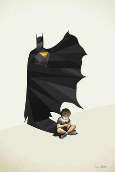 Cuando de niños imaginas cosas constructivas....te vuelven fuertes...a la luz del día