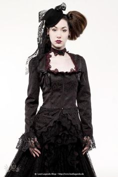 Shelley Steampunk Jacke
