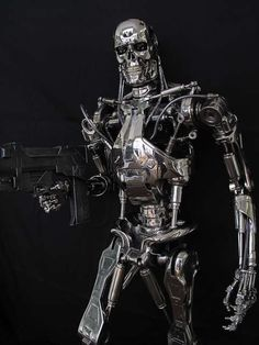 Terminator, the ultimate weapon.