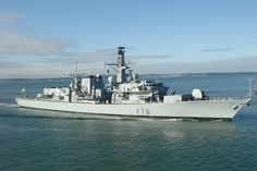 HMS Kent (F78) | Royal Navy Type 23 Frigate returns to Portsmouth.