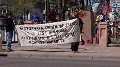 Manifestación por Ayotzinapa: A siete meses de impunidad