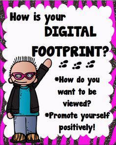 A question for students to ask themselves before getting online Digital Citizenship Rocks! from The Teacher Chick Elementary Counseling, School Counseling, Elementary Schools, Technology Posters, Digital Technology, Technology Lessons, Teaching Technology, Teaching Resources, Teaching Ideas