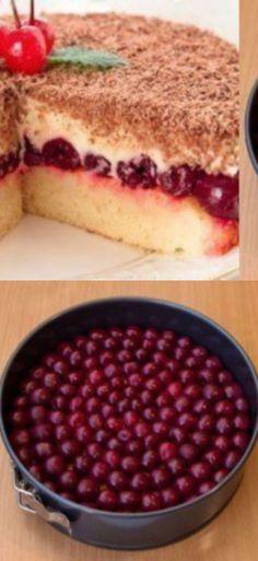 Безумно вкусный торт, с нежной кислинкой!