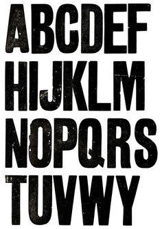 Wood Type by Christopher Darby