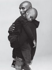 Thank you for adding this in here, gotta admit, the picture of Kenny Lattimore and his son is precious! Black Dad, Black Fathers, Fathers Love, Black Love, Beautiful Family, Family Love, Family Goals, Father Son Photography, Father And Baby