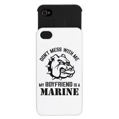 Marine Girlfriend iPhone 5 Case by pridegiftshop