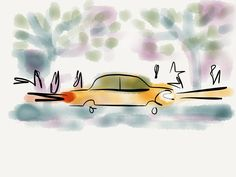 Dirk, my neighbor did it again, quick sketch http://www.meissner-cartoons.com [Privatbesitz]
