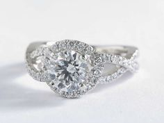 New Infinity Engagement Ring from Blue Nile and Colin Cowie