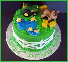 tractor birthday cakes - Bing Images
