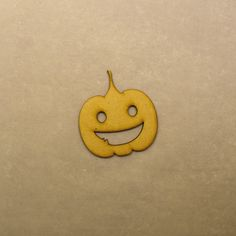 Helloween Pumpkin Type 3 Embellishment 3mm MDF by LaserVinylArts on Etsy