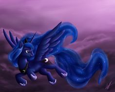 MLP: Princess Luna by *MelvisMD on deviantART