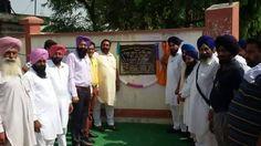 Senior Leader Avtar Singh Zira inaugurated upgraded Senior Secondary School in Kaamalvala village in his constituency  #Punjab #ShiromaniAkaliDal #SAD