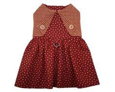 Lidia Dog Dress Pattern 1545 Dog Clothes Patterns Easy