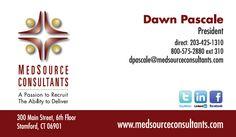 29 best business card design images on pinterest business cards medsource consultants stamford connecticut business card design by boss office works http reheart Choice Image
