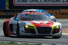 Flying Lizard Motorsports Audi R8 LMS driven by Nelson Canache Jr. and Spencer Pumpelly.