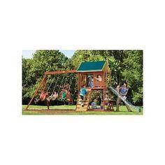 Pine Ridge III Swing Set - Big Back Yard (Toy)