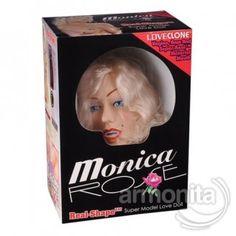 Monica® Sarışın Süper Şişme Manken Doğa harikası süper seksi model, Sarışın,mavi gözlü,gerçek insan saçı, İnsan teni ile eş değer kalitede vajina ve anüs, Zevki artırıcı ve doyurucu kademeli titreşim, Vajina ve anüs tahrik artırıcı kıvrımlı desenli, Vajinal ve anal özel seks yetenekli, Memeler tombul,kalçalar dolgun ve seksi,