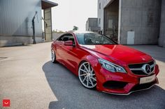 Awesome Mercedes: vossen wheels mercedes e-class coupe cars...  Mercs Check more at http://24car.top/2017/2017/05/01/mercedes-vossen-wheels-mercedes-e-class-coupe-cars-mercs/