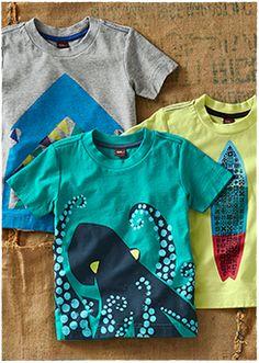 Trendy Boys Clothes & Cool Boys Clothes   Tea Collection