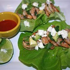 Mojito Shrimp Lettuce Wraps were excellent!  #AllstarsMazola