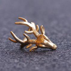 3D printed Deer Ring, FORMBYTE
