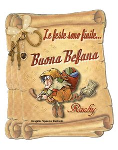 Buona Befana Modern Christmas, Winter Solstice, Old Postcards, New Years Eve Party, Christmas Traditions, Before Christmas, Good Morning, Christmas Wreaths, Italian Language
