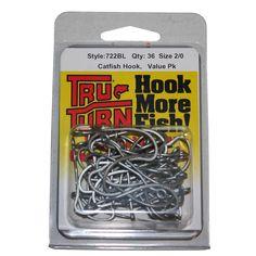 Tru Turn TTI Catfish Hook-36 Per Box, 2/0, Silver * Want additional info? Click on the image.