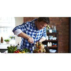 Jamie Oliver Tefal bradepande m/håndtag