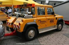 Defender Rescue Truck.
