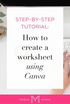 In this video, I'm going to show you how to easily and quickly create a  worksheet using a web application called Canva.  By following this step-by-step tutorial, you'll have a PDF that you can  give to your community as a free download, lead magnet, or even use as a  worksheet in your paid programs!  The options are endless!   Want to learn more about growing your email list?  If you're interested in learning more about how to grow your email list, be  sure to sign up for the free list b...