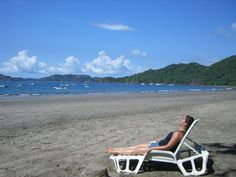 Relaxing at Playa Hermosa Guanacaste - http://www.govisitcostarica.com/region/city.asp?cID=17