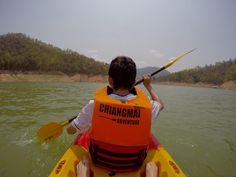 Kayaking in Thailand with my good friend Cian! :)