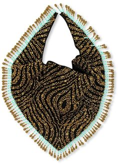 Forest of Chintz Bella Bandita Beaded Fringe Scarves