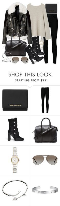 """""""Untitled #19295"""" by florencia95 ❤ liked on Polyvore featuring Yves Saint Laurent, Paige Denim, Isabel Marant, Givenchy, Burberry, Tom Ford and Cartier"""