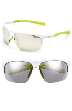 Nike 'Run X2' 69mm Sunglasses available at #Nordstrom