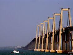 Rafael Urdaneta Bridge Over Lake Maracaibo, Maracaibo, Venezuela