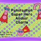 Understanding what type of end punctuation is needed can be difficult for elementary students.  These anchor charts are fun and colorful and sure t...