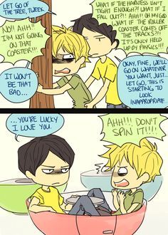 """""""You're Lucky I Love You"""" oh my :D Craig x Tweek"""