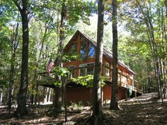 Paw Paw Vacation Rental - VRBO 378644 - 1 BR WV Cabin, Private Wv Cabin/Chalet Mountain Get Away