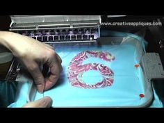 VIDEO:  How to machine embroidery applique WATCH THIS video  then REPIN IT www.creativeappliques.com Creative Appliques - YouTube