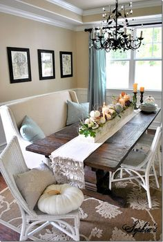 whole dining room fall