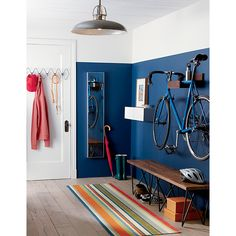 RE-PIN THIS!!! http://www.cardosystems.com/ wood bike storage | CB2