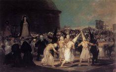 Procession of Flagellants - Goya Francisco