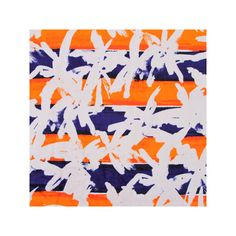 Kenzo Palms Beach Towel - Indigo ($120) ❤ liked on Polyvore