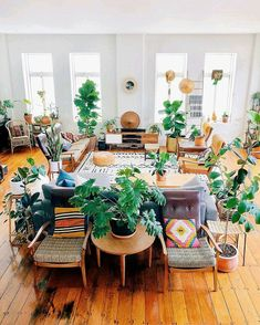 Home Interior Design Styles - Looking to caparison your new home and hunting thematic inspiration? We are covering 8 home interior design styles that are Living Room Plants, Living Room Colors, Boho Living Room, Living Room Decor, Bohemian Living, Bohemian Decor, Living Room Inspiration, Home Decor Inspiration, Decor Ideas
