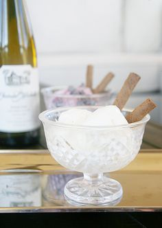Combine two of our favorite pleasures rolled into one! This yummy wine ice cream will be your new go to way to chill out this summer. Wine Ice Cream, Apple Cider Mimosa, Champagne Margaritas, Sweet Wine, Expensive Wine, Wine Case, Party Desserts, Ice Cream Recipes, Frozen Treats