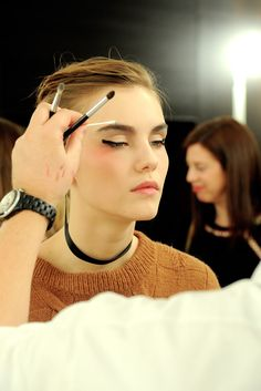 Chanel Spring 2011 Couture Fashion Show Beauty