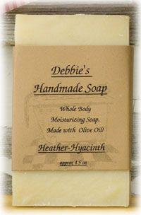 Heather Hyacinth Soap