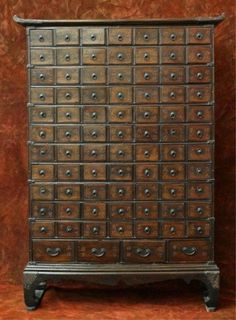 Antique Korean Traditional Doctor's Medicine Chest